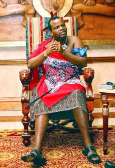 Rei Mswati II da Suazilândia